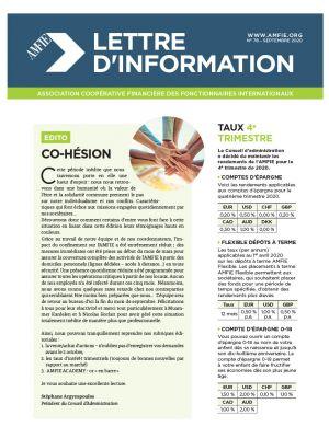 Lettre d'information n°78